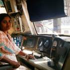 Asia's first woman to ride a diesel train is an Indian