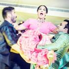 Shahid-Mira glam up Masaba's wedding celebrations