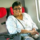 Two accidents, a wheelchair and a National award