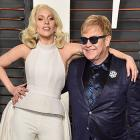 Lady Gaga and Elton John turn designers for charity