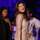 Pics: Sush, Dia, Shilpa attend Manish's show at LFW