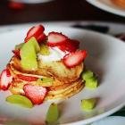 Breakfast recipe: How to make Strawberry Cream Pancake