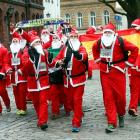 Xmas special: Have you seen Santa running?