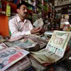 Rupee strengthens 8 paise against dollar in early trade