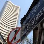 Markets open flat; financial shares gain