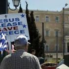 IMF warns of huge financial hole as Greek vote looms