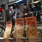 Rupee falls 26 paise on fresh dollar demand