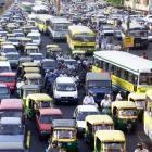 Choking Delhi vows pollution tax, car-free days to improve air
