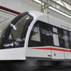 China's first Maglev train hits the track