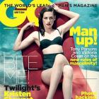 Kristen Stewart hots up GQ cover in a retro bikini