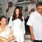 PIX: Aishwarya attends Ashok Mehta's Chautha