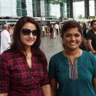 Spotted: Tamil actress Sonia Agarwal in Bangalore