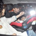 PIX: Aamir Khan, Kiran celebrate Azad's birthday