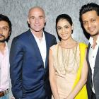 PIX:Riteish, Genelia, Kangna party with Andre Agassi