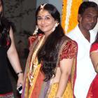 PIX: Vidya Balan's Mehndi Ceremony
