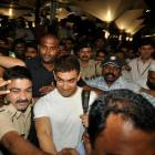 PIX: Aamir Khan returns from Haj pilgrimage