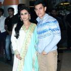 PIX: Rani, Aamir and family at Talaash premiere