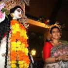 PHOTOS: Kajol celebrates Durga Puja