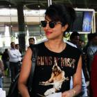 Spotted: Priyanka Chopra returns from Quantico shoot
