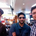 Spotted: Arshad Warsi, Amit Sadh at Mumbai airport