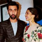 Ranbir, Deepika party with Ranveer, Alia