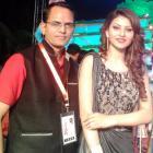 Spotted: Actress Urvashi Rautela in Navi Mumbai
