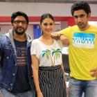 PIX: Arshad Warsi, Amit Sadh, Aditi Rao Hydari visit Rediff