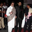 PIX: Bachchans, Varun, Sonakshi mingle at a wedding reception