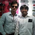 Spotted: Rahul Vidya at Hyderabad airport