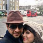 PIX: Karan Mehra, Nisha Rawal vacation in London