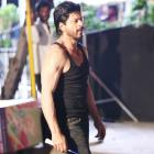 PIX: Shah Rukh gets sporty on Dilwale sets