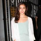 PIX: Alia, Shah Rukh party with Karan Johar