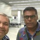 Spotted: Ashish Vidyarthi in Hyderabad