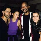 PIX: Varun, Alia, Akshay party with Will Smith