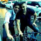 Shah Rukh, Salman go cycling together!