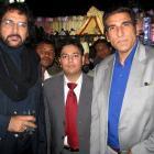 Spotted: Shabaaz Khan, Mukesh Rishi in Mumbai