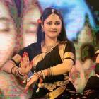 PIX: Gracy Singh performs at Maha Kumbh