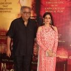 PIX: Boney-Sridevi watch Mughal-e-Azam