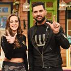 PIX: Yuvraj, Hazel on The Kapil Sharma Show