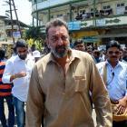 PIX: Sanjay Dutt shoots in Mumbai