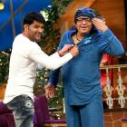 PIX: Ranjeet joins Prem Chopra and Raza Murad on The Kapil Sharma Show