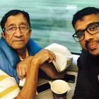 Spotted: Nukkad actor Suresh Bhagwat on a UK train