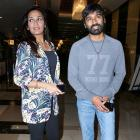 PIX: Dhanush, Soundarya at VIP 2 screening
