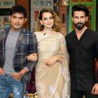 PIX: Shahid, Kangana, Saif promote Rangoon