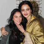 PIX: Rekha, Aditi Rao Hydari party with Javed Akhtar