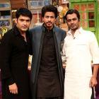 PIX: Shah Rukh, Nawaz on The Kapil Sharma Show