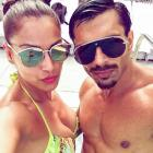 PIX: Bipasha-Karan's Miami holiday