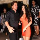 PIX: Shah Rukh parties with daughter Suhana