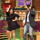 PIX: Bhaichung Bhutia dances on The Kapil Sharma Show