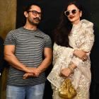 PIX: Rekha, Jacqueline watch Secret Superstar with Aamir
